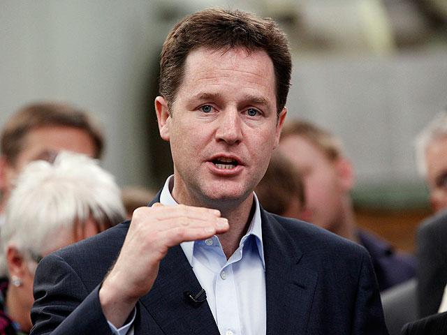 Nick Clegg, la gran sorpresa de la campaña electoral británica