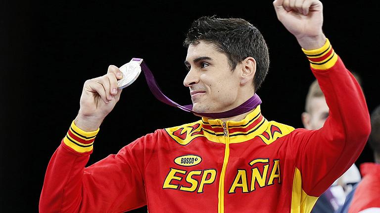Nicolás García sella con plata el pleno en taekwondo