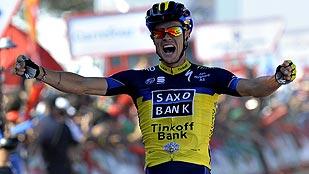 Nicolas Roche gana en el primer final en alto