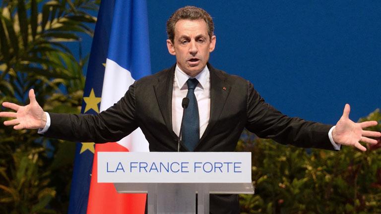 """Sarkozy: con Hollande la economía de Francia sería """"digna de España o Grecia"""""""