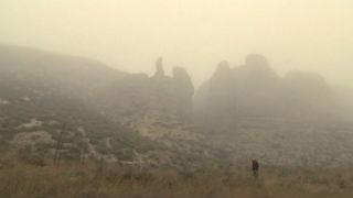 """Aquí la tierra - Niebla """"pajarera"""""""