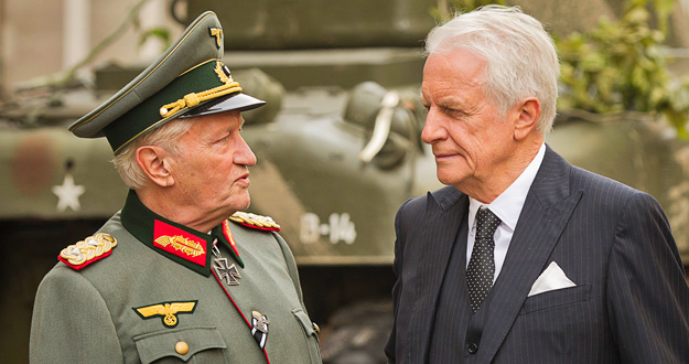 Niels Arestrup y André Dussollier en 'Diplomacia'