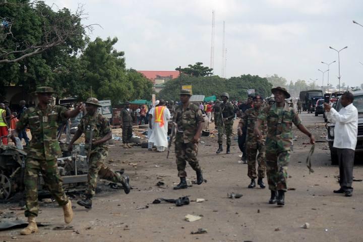 Nigeria soldados