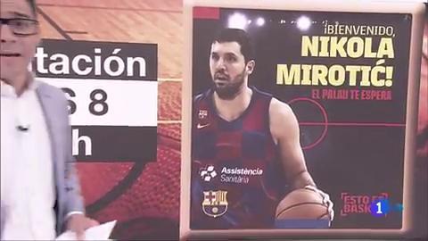Ir al VideoNikola Mirotic ficha por el Barça por tres temporadas