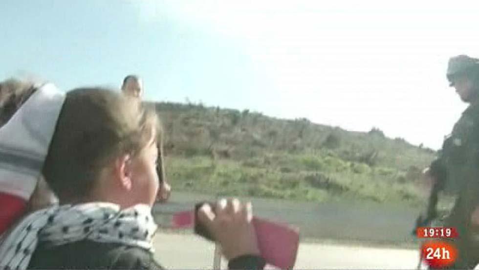La niña que abandera la causa la palestina en internet