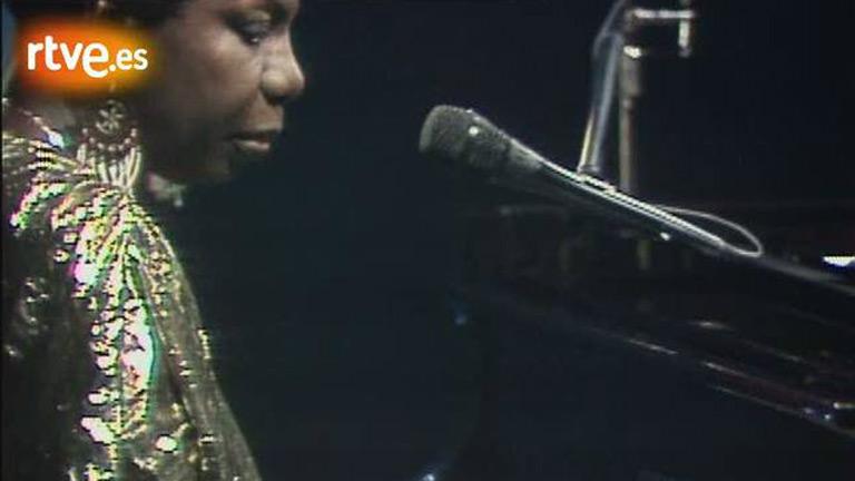 Nina Simone en 'Sábado noche' (1988)