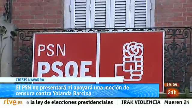 Parlamento- El foco parlamentario - El PSN no presentará moción de censura contra Yolanda Barcina - 08/03/2014