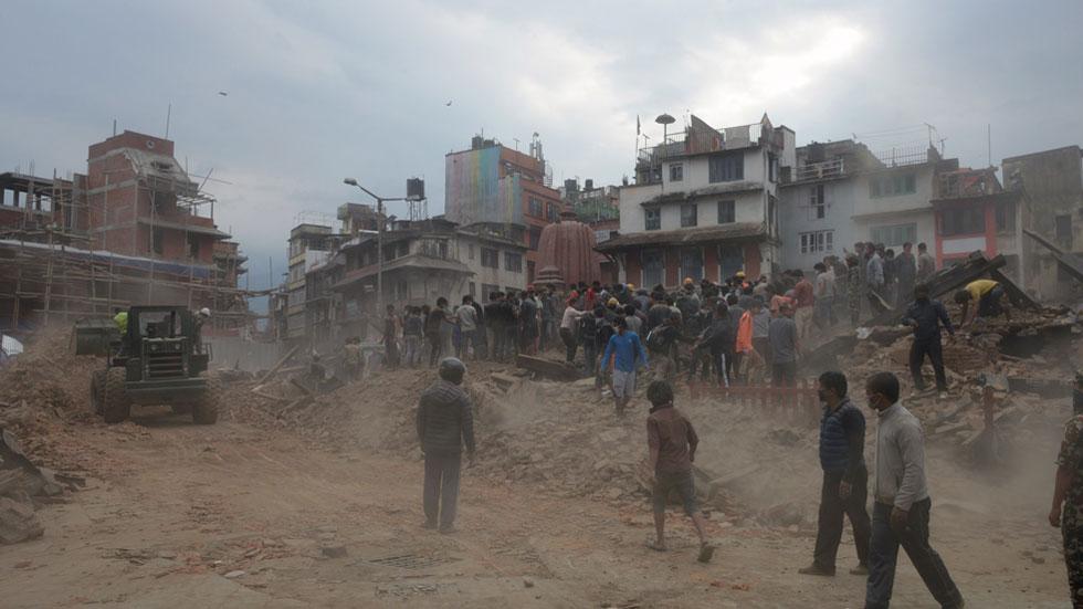 No hay constancia de que haya víctimas españolas en Nepal