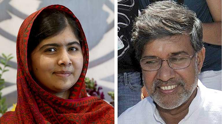 El Nobel de la Paz 2014, para Malala y Kailash Satyarthi
