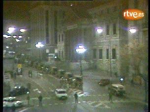 Archivo - La Carrera de San Jerónimo la noche del 23-F