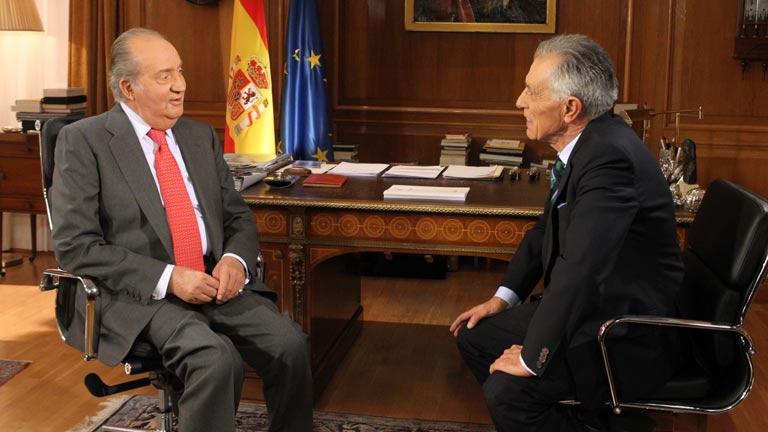 La noche del rey - Entrevista del rey Juan Carlos I con Jesús Hermida en TVE