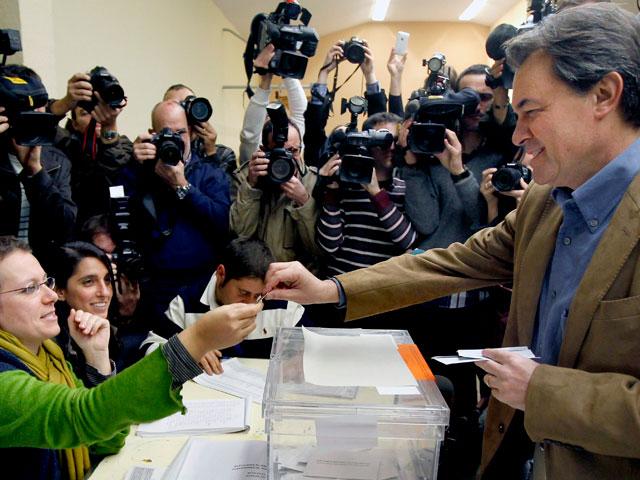 La normalidad caracteriza las elecciones en Cataluña