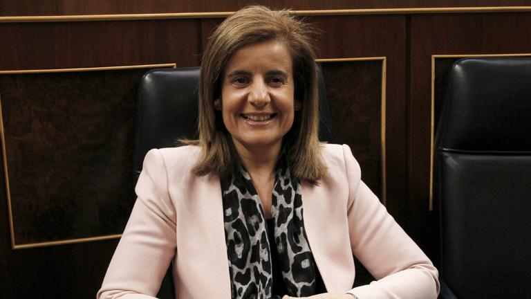 Fátima Bañez ha destacado la normalidad con la que se está desarrollando la jornada de huelga