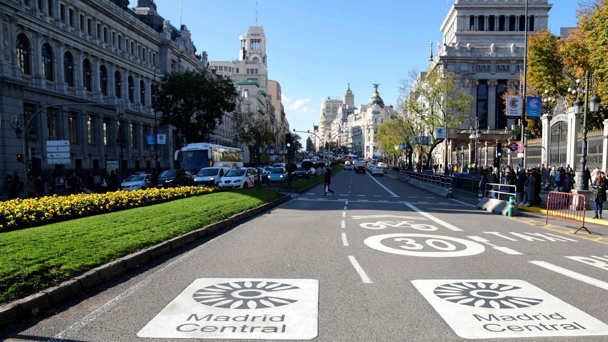 Ir al VideoNormalidad en la primera jornada de Madrid Central