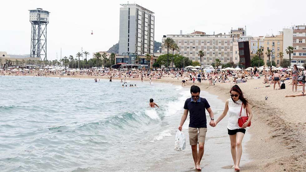Notable aumento de temperaturas en puntos de Andalucía y Murcia