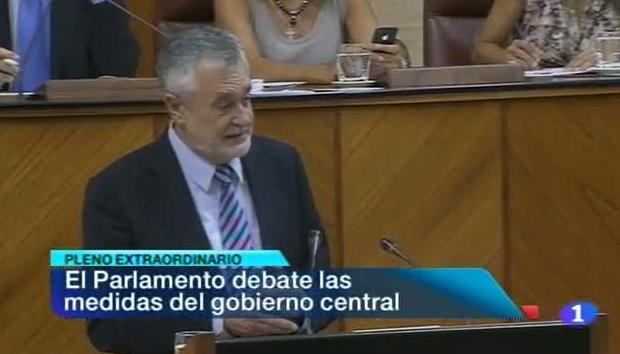 Noticias Andalucía - 25/07/12