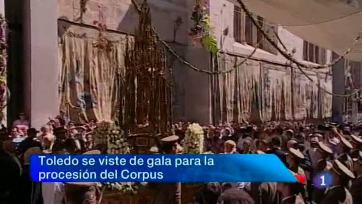 Noticias Castilla La Mancha en 2' (07/06/2012)