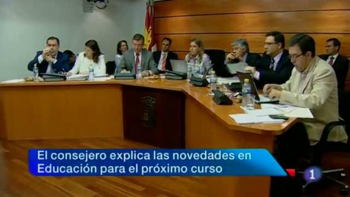 Noticias Castilla La Mancha en 2' (19/06/2012)