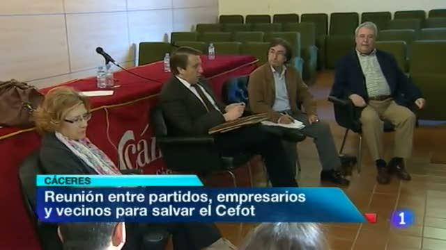Noticias de Extremadura - 13/04/12