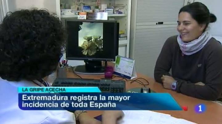 Noticias de Extremadura - 20/01/12
