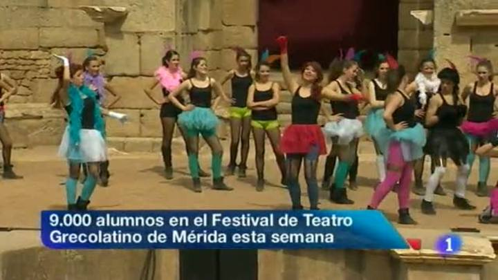 Noticias de Extremadura - 23/04/12
