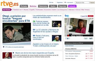 Novedades en RTVE.ES