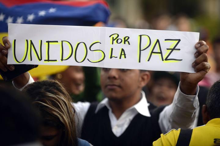 Nueva manifestación contra el Gobierno de Venezuela y por la liberación de Leopoldo López