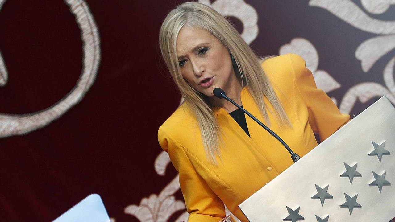 La nueva presidenta de la Comunidad de Madrid, Cristina Cifuentes