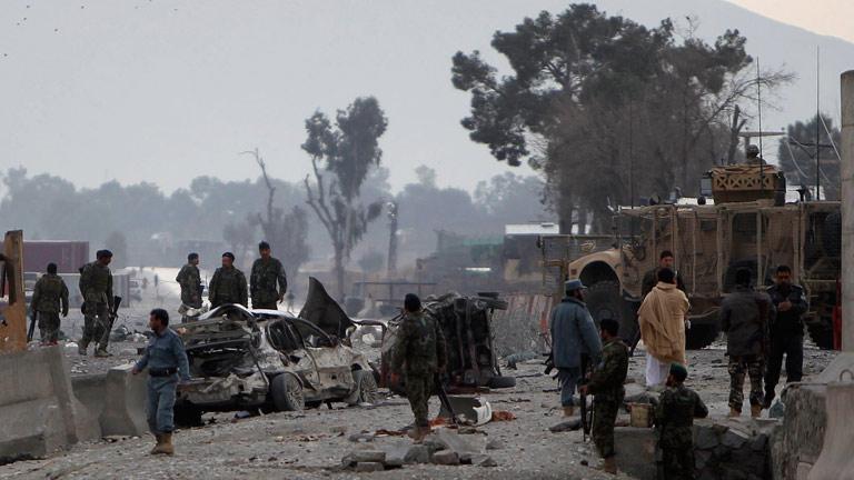 Nueve muertos en un atentado en Afganistán