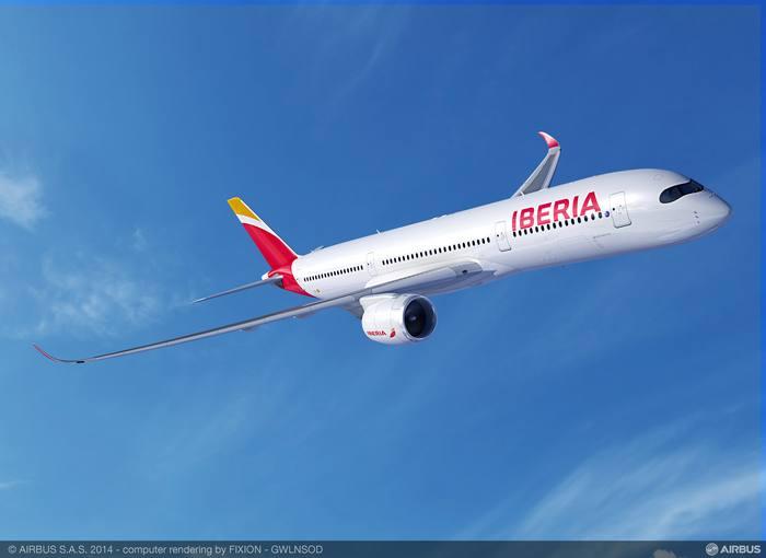 Nuevo A350-900 de Iberia