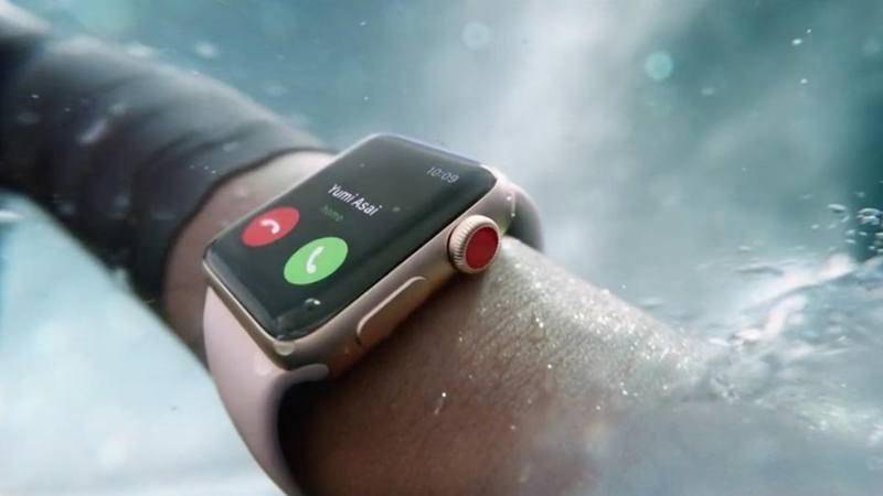 El nuevo Apple Watch Series 3 tiene conectividad móvil incluida. APPLE
