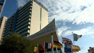 Clausurado el hotel Diamante Beach por nuevo caso de legionella