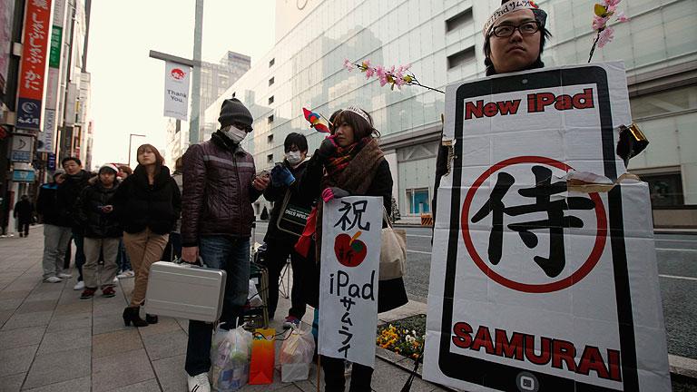 El 'nuevo iPad' ya está a la venta en Japón