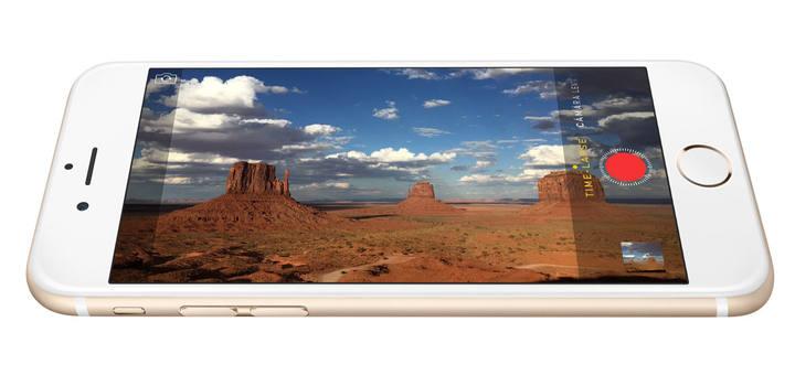 El nuevo iPhone 6, de pantalla de 4,7 pulgadas.
