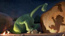 Ir al VideoNuevo tráiler de 'El viaje de Arlo', de Pixar