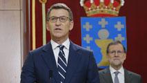 Ir al VideoNúñez Feijoó promete su cargo como presidente de la Xunta de Galicia