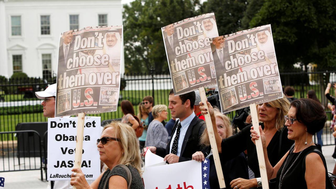 Obama veta la ley que permite a los estadounidenses demandar a Arabia Saudí por el 11-S