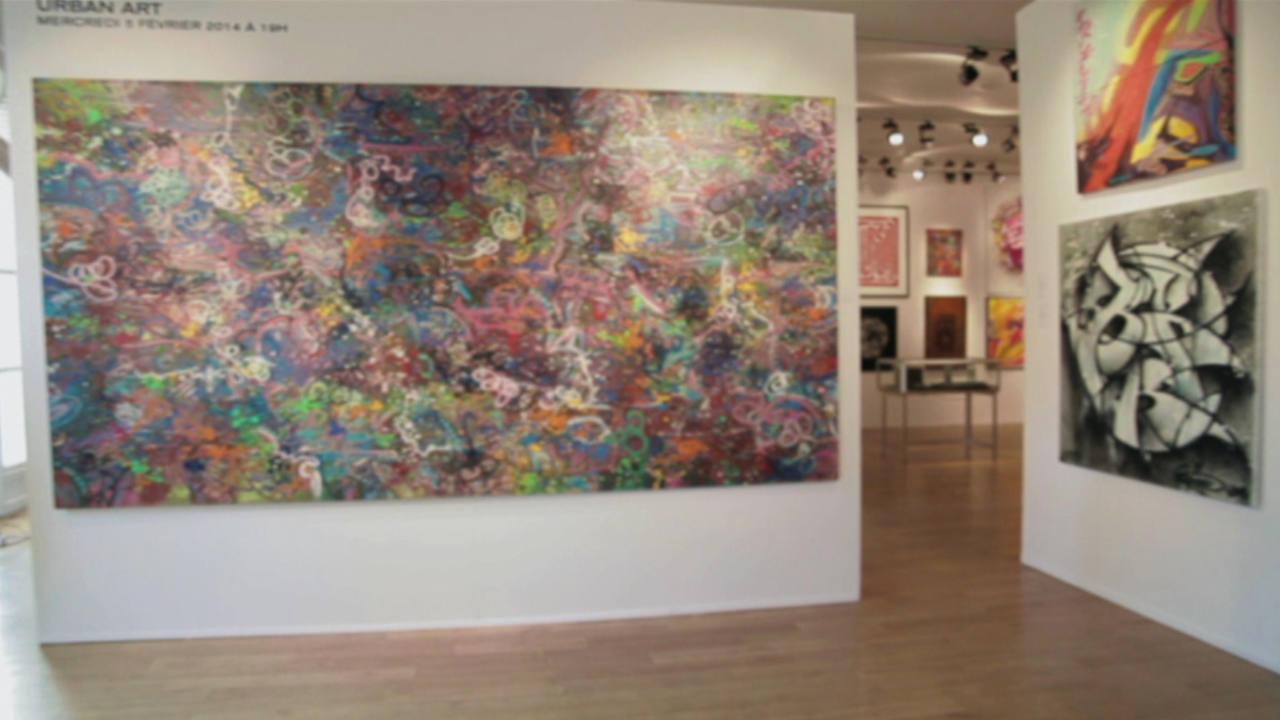 Obras de Jon One en galería
