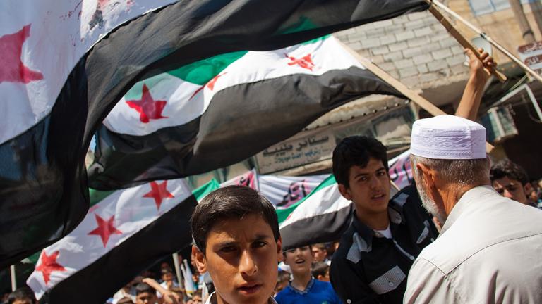 Observadores de la ONU consiguen entrar en la localidad siria de Treimsa
