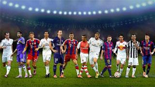 Ocho madridistas optan al once de la UEFA