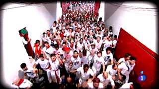 Octavo encierro de San Fermín 2012