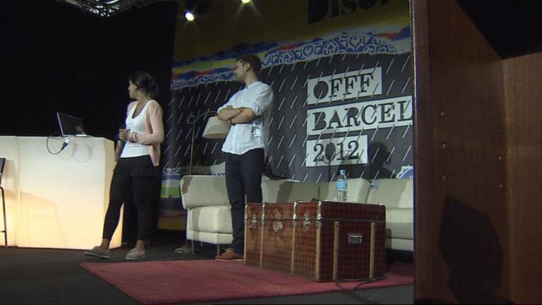 El mayor escaparate de cultura digital: OFFF 2012