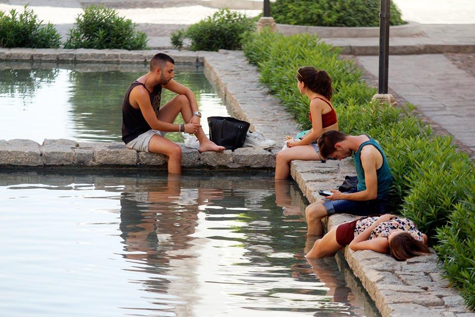 Ola de calor: alerta naranja en cinco provincias andaluzas con máximas de hasta 42 grados