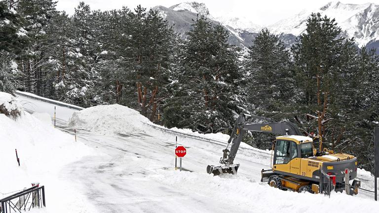 La ola de frío siberiano abandona España