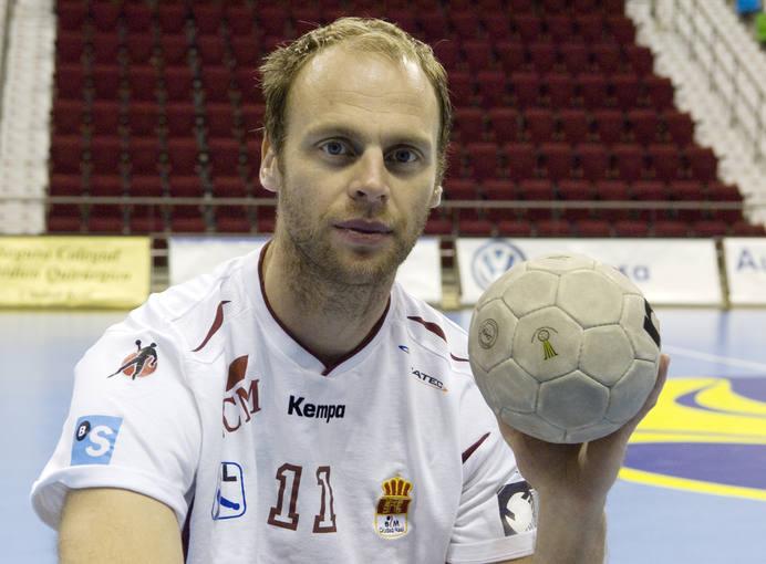 Olafur Stefansson en su etapa como jugador del BM Ciudad Real