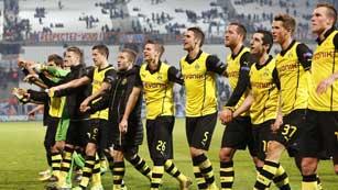 Olympique de Marsella 1 - Borussia Dortmund 2