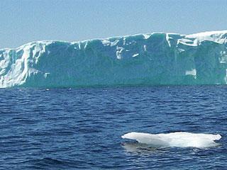On Off: Nace el iceberg más grande