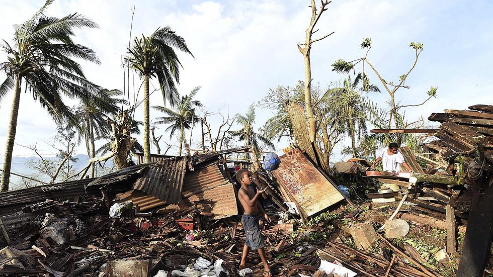 La ONU confirma 24 muertos por el ciclón Pam y alerta de una crisis humanitaria en Vanuatu