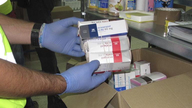 Treinta detenidos en la mayor operación contra el comercio ilícito de medicamentos