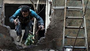 Ver vídeo  'La oposición armada siria, cada vez más dividida'
